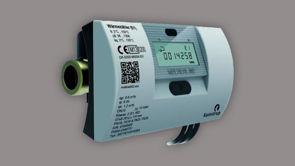 Kompaktní měřič tepla a chladu Kamstrup MULTICAL 302